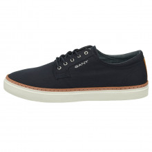 GANT Mens 2021 Prepville Low Lace Twill Fabric Recycled Foam Plimsoll Shoes