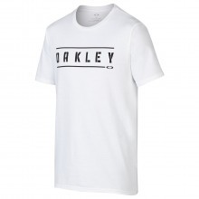 Oakley Sport Mens Double Stack T Shirt Crew-Neck Print Tee