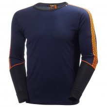 Helly Hansen 2016 Mens HH Dry Stripe 2 Crew LS Tee Base Layer