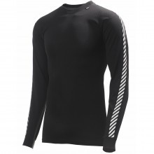 Helly Hansen Mens HH Dry Stripe Crew Lightweight Base Layer Top