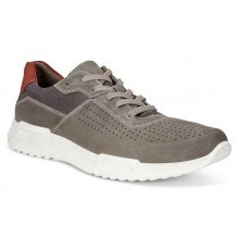 Ecco 2018 Mens Luca Suede Trainers