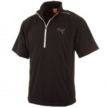 Puma Golf Mens Half Zip Short Sleeve Storm Jacket