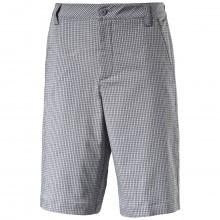 Puma Golf Mens Plaid Tech DryCELL Shorts