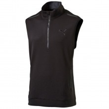 Puma Golf 2016 Mens PWRWARM Sleeveless Half Zip Pullover