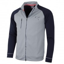Puma Golf 2016 Mens PWRWARM Colorblock Full Zip Jacket