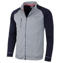 Puma Golf Mens PWRWARM Colorblock Full Zip Jacket