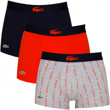 Lacoste Mens 2020 5H3415 French Flag Soft Touch Stretch 3 pack Boxer Briefs
