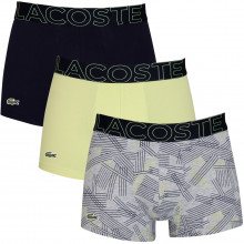 Lacoste Mens 2020 5H5581 Stretch Fabric Crocodile 3 pack Boxer Briefs