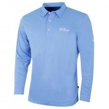 Oscar Jacobson Mens Hubert Tour LS Golf Polo Shirt