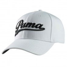 Puma Golf Script City Cool Cell Relaxed Fit Cap 908226 Sport Hat - One Size