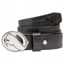 Puma Golf Mens Regent Croc Fitted Leather Strap Golf Belt