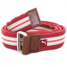 Puma Golf Mens Stripe Jacquard Web Belt Canvas Military Style