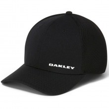 Oakley Mens Silicon Bark Trucker 4.0 Fitted Sports Cap