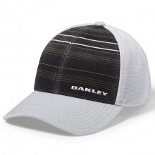 Oakley 2017 Mens Silicon Bark Trucker Print 2.0 Cap