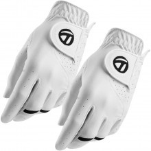 Taylormade Golf 2017 Mens TM All Weather Glove Twin Pack LH Single Multi