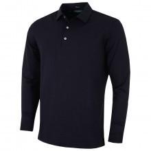 Bobby Jones Mens TF Liquid Cotton LS Solid Polo Shirt