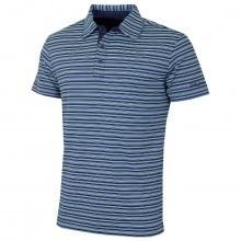 Bobby Jones Mens  XH2O Cero Fine Line Stripe Golf Polo