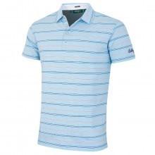 Bobby Jones Mens Cotton Manta Stripe Golf Polo