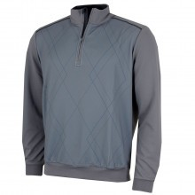 Bobby Jones Mens Raker Front 1/4 Zip Pullover
