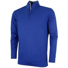 Bobby Jones Mens Pima Leaderboard 1/4 Zip Pullover