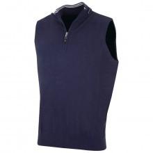 Bobby Jones Mens Cotton Mix 1/4 Zip Vest