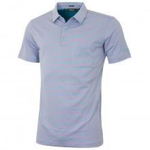 Bobby Jones Mens Supreme Cotton Bar Stripe Golf Polo Shirt