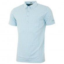 Bobby Jones Mens Supreme Cotton Gingham Golf Polo Shirt
