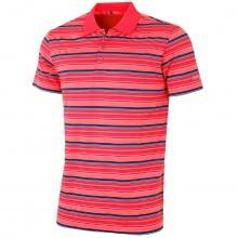 Bobby Jones Mens XH20 Nine Iron Multi Stripe Golf Polo Shirt