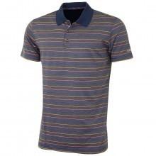 Bobby Jones Mens XH20 Clubhouse Pin Stripe Golf Polo Shirt