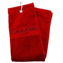 Calvin Klein Golf CK Tri Fold Golf Cart Bag Folded Towel