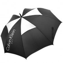 Calvin Klein Golf CK Stormproof Vented Double Canopy Umbrella