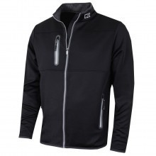 Cutter & Buck Mens Montana Full Zip Performance Jacket