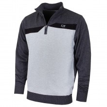 Cutter & Buck Mens Staggered Wind Sweater