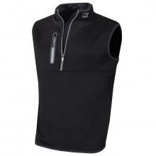 Cutter & Buck Mens Tech Half Zip Vest