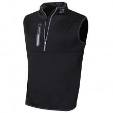 Cutter & Buck Mens Tech Half Zip Vest