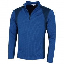 Calvin Klein Mens 2020 Micro Grid CK 1/2 Zip Mid Layer Pullover