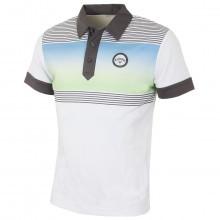 Callaway Golf Mens X Range Fade Chest Print Polo Shirt