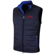 Callaway Golf Mens LC Logo Fibre Filled Puffer Vest