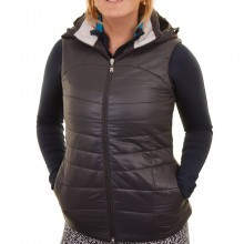 Calvin Klein Golf Womens Hooded Padded Gilet
