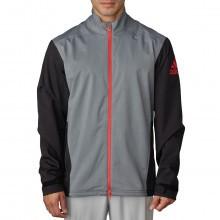 Adidas Golf Mens Waterproof Climaproof Heathered Rain Jacket