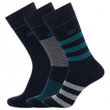 CR7 Mens Cristiano Ronaldo 3-Pack Breathable Fashion Cotton Comfort Socks