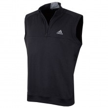Adidas Golf 2017 Mens Club 1/4 Zip Crested Vest