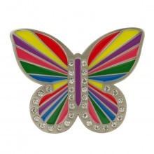 Druh Butterfly Golf Belt Buckle Metal Interchangeable