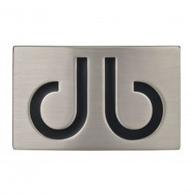 Druh Infill db Logo Belt Buckle