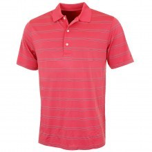Greg Norman 2016 Mens K321 Seasonal Micro Pique Stripe Golf Polo Shirt