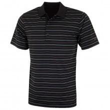 Greg Norman 2016 Mens K323 Micro Pique Green Stripes Golf Polo Shirt