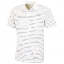Greg Norman 2016 Mens K325 Micro Pique Black Stripes Golf Polo Shirt