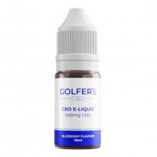 Golfer's CBD 2021 500mg CBD Vape Flavoured E-Liquid - 30 ml