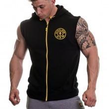 Golds Gym Mens Sleeveless Premium Hoodie
