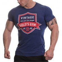 Golds Gym Mens Vintage Printed T-Shirt